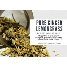 Pure Ginger Lemongrass Loose Leaf