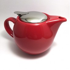400ml Red tea pot